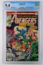 Avengers #155 -NEAR MINT- CGC 9.4 NM - Marvel 1977 - Sub-Mariner & Dr. Doom App!