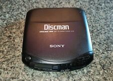 Sony Discman D-131 Mega Bass Vintage Portable CD Player - Tested and Working
