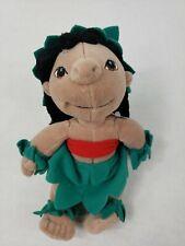 "Disney Store ""Lilo"" Hula Girl Doll 8""  Stuffed mini Bean Bag"
