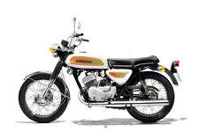 1971 KAWASAKI A1 SAMURAI 250 VINTAGE MOTORCYCLE POSTER 24x36