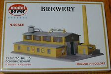 "Model Power N #1509 Building Kit -- Brewery - 8-1/2 x 5-1/2"" 21.3 x 13.8cm"