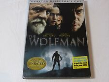 The Wolfman DVD 2010 Rated/Unrated Versions Horror NR Benicio Del Toro Anthony H