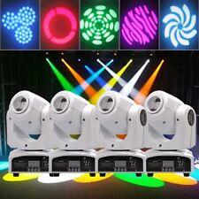 4PCS 60W Stage Lighting Spot GOBO RGBW LED Moving Head DMX Disco DJ Party Lights