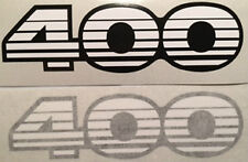KAWASAKI KH400 KH400A7 SIDE PANEL DECALS