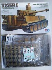 1998 TAMIYA #35227 GERMAN TIGER I AUSFUHRUNG Afrika - 1/35 SCALE KIT