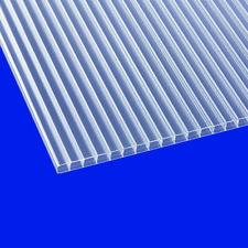 Stegplatte 16mm Doppelstegplatten Polycarbonat Hohlkammerplatte klar 16,99€/m²