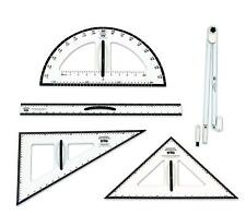 Learning Advantage Dry Erase Magnetic Measurement Set Whiteboard Compass, Protra