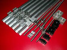 SBR16-300/700/800mm linear rail+ballscrew RM1605+BK/BF12 bearing+nut housing CNC