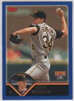 2003 Topps Baseball Pittsburgh Pirates Team Set