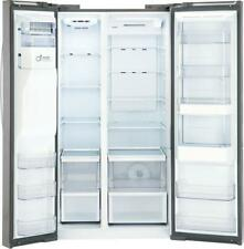LG 36 Inch Stainless Steel Freestanding Side by Side Refrigerator LSXS26366S