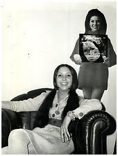 Italia, Sonia Natali, cantante italiana  Vintage silver print Tirage argentiqu