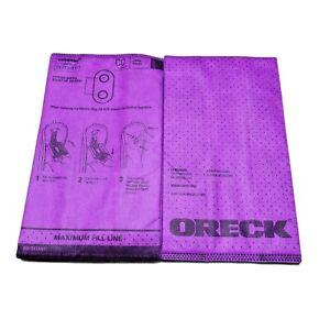 Oreck, O-AK1CC25H Paper Bag, Superior Filtration Purple Open Bag 20 Bags