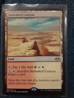 1x Sunbaked Canyon - MtG Modern Horizons - NM Near Mint MAGIC THE GATHERING