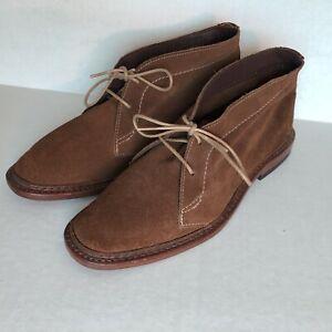MINT! Allen Edmonds AMOK Snuff Suede Chukka Boots 7.5D/M Unlined USA 1164