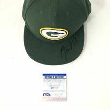 Aaron Rodgers Signed Hat PSA/DNA Green Bay Packers Autographed Cal