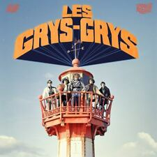 LES GRYS-GRYS white vinyl LP garage punk mod beat psych Toe Rag Crawdaddys
