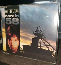 "BRUCE DICKINSON "" Born In 58 "" Rare CD Single Iron maiden UK Import 1990 2 Live"
