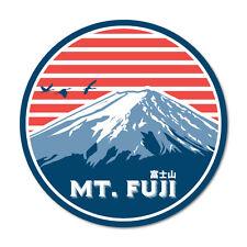 Mt Fuji Round Japan Sticker Decal JDM Car Drift Vinyl Funny Turbo #7591EN