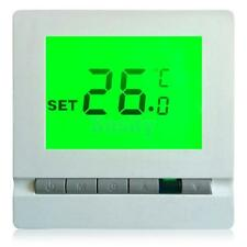 Electronic Thermostat Digital Room Temperature Controller W/Green Backlight