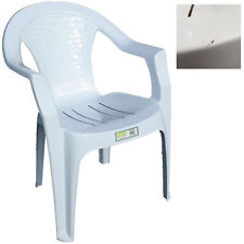 White Plastic Garden Chairs Swings Benches Ebay