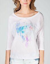 NWT Roxy Mystic Wolf Juniors Womens Dreamcatcher Shirt Tee Top medium new