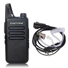 Zastone ZT-X6 400-470 MHz 16 channels Walkie Talkie Mini portable Radio Earpiece
