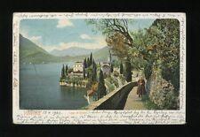 Italy LAGO DI COMO Varenna Used 1903 u/b PPC