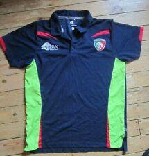 Leicester Tigers Rugby Polo Shirt. Samurai. XXL.