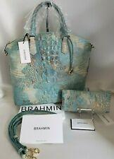 Brahmin Handbag Large Duxbury Satchel Purse Serendipity Melbourne Style
