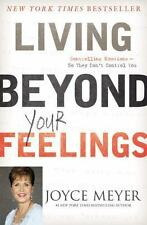 Living Beyond Your Feelings Christian Hardcover book Joyce Meyer FREE SHIPPING