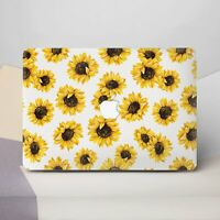 Sunflowers Macbook 12 Pro 13 2018 Retina 15 Top Bottom Printed Sleeves Set Cover