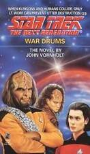 War Drums by John Vornholt (Paperback, 2003) STAR TREK Next Generation #23