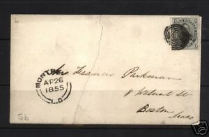 Canada #5 VF Used On Cover