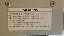 Siemens Transformer 4AV3500-2AB 400V 6A to 24V 50A Siemens Trafo