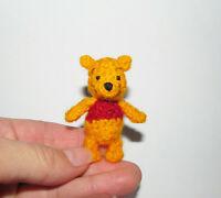 Miniature Ooak Bear Winnie The Pooh Artist Teddy Bear Dollhouse Dolls Toy Gift