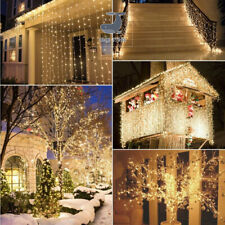 SHENSTORE 5/10/20/30/50/100m Outdoor Christmas Led String Lights Decoration