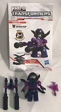 Hasbro Kre-O Kreo Transformers Micro Changers SPINISTER Kreon Minifigure