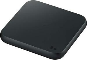 GEUNINE SAMSUNG GALAXY FAST WIRELESS CHARGER PAD WITH TRAVEL ADAPTER - BLACK