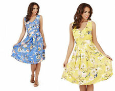 Midi Regular Size Floral Casual Dresses