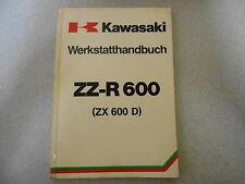 Werkstatthandbuch Reparaturanleitung Kawasaki ZZ R 600 (ZX 600 D)