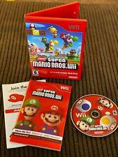 Super Mario Bros Wii (Nintendo Wii) - CIB - Tested Working