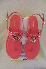 Women Liz Claiborne Sandal Summer Size 7 Lally Coral New Cute