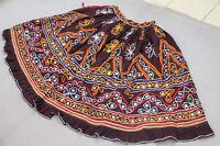 Ethnic Banjara Boho Gypsy Embroidery India Kuchi Rabari Tribal Belly Dance Skirt