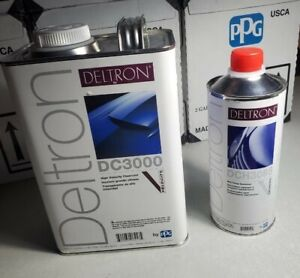 Ppg Dc3000 1gallon High Velocity Clearcoat, Dch3085 1 Quart Mid Temperature