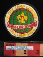 Vtg. BSA BOY SCOUT PATCH ~ 1977 SW DISTRICT FALL CAMPOREE 5OA2