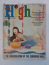 Vintage THE NEW HIGH Magazine November 1958 JAMES PURDY Story CUTTING EDGE