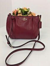 Coach Crossbody Bag Colette F52177 Crimson Leather Swingpack  B5