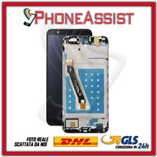 DISPLAY LCD VETRO TOUCH FRAME Per Huawei P Smart FIG-LX1 FIG-L21 SCHERMO Nero