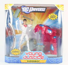 "DC UNIVERSE Young Justice SUPERBOY Solar Suit 6"" deluxe action figure toy - NEW!"
