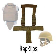 Tactical Helmet Holster, Coyote Brown, KapKlips